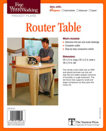 Open Base Router Table