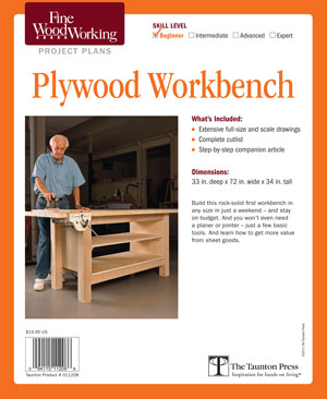 Plywood Workbench Project Plan