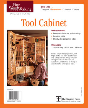 Tool Cabinet Project Plan