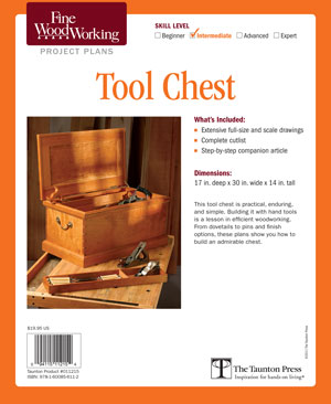 Tool Chest Project Plan