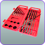 "12"" Brad Point Drill Bit Set"
