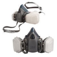 3M® Half Face Respirator for Finisihing