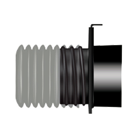 4 inch Threaded Quick Disconnect Blast Gate