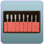 8 piece diamond bur set