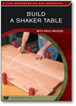 Build A Shaker Table with Kelly Mehler