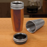 Stainless Steel Beverage Mug kit for turning a wooden mug