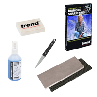 Diamond Sharpening Woodturners & Carvers Kit