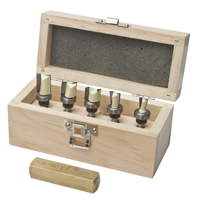 6 Piece Dovetail Wiz Router Bit Set