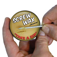 Fastcap Screw Wax