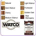 Watco Danish Oil penetrates deep into wood pores to protect from within and to enhance the natural look and feel of the wood.