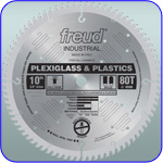 Image of 10 inch Plexiglass and Plastic Blade