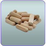 Fluted Dowels