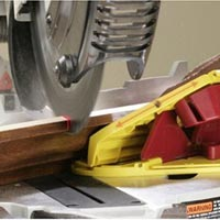 Milescraft 1405 Crown45 Crown Molding Jig for Miter Saws in action