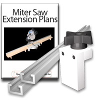 Miter Saw Extension Kit