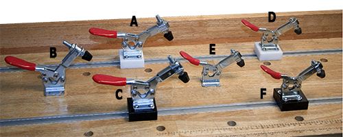 Mounted Toggle Clamps