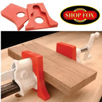 "Shop Fox Clamp Pad For 1/2"" and 3/4"" Pipe Clamps"