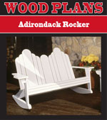 Adirondack Rocker Woodworking Plan