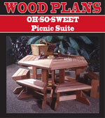 OH-SO-Sweet Picnic Suite Woodworking Plan