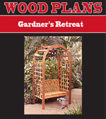 Gardner's Retreat Woodworking Plan