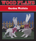 Garden Wabbits Woodworking Plan