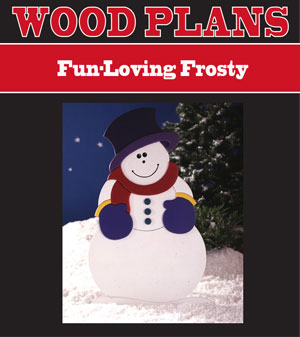 Fun-Loving Frosty Woodworking Plan