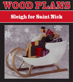 Sleigh For Gold Reindeer Woodworking Plan
