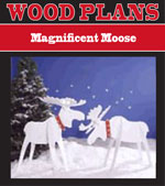 Magnificent Moose Woodworking Plan