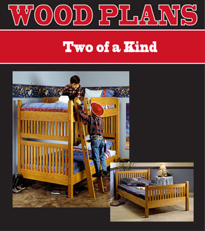 Bunk Bed Woodworking Plan