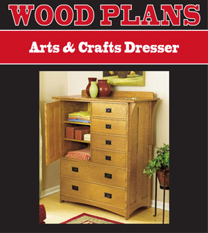 arts and crafts woodworking plans