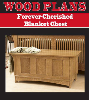 blanket chest plans mission