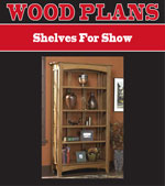 Shelves for Show Woodworking Plan