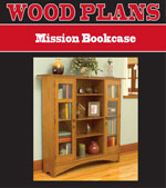 Mission Bookcase Woodworking Plan