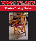Mission Dining Chairs Woodworking Plan