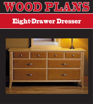 bedroom dresser woodworking plans
