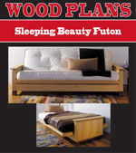 Sleeping Beauty Futon Woodworking Plan