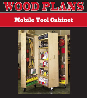 rolling tool cabinet woodworking plans
