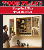 Shop-in-a-box tool cabinet Woodworking Plan
