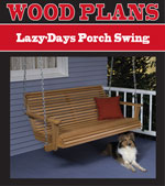 Lazy-Days Porch Swing Woodworking Plan