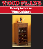 Ready-to-Serve Wine Cabinet Woodworking Plan