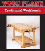 Traditional Workbench Woodworking Plan