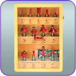 13 Piece Freud Super Router Bit Set