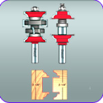 Entry Door Router Bit Set