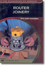 image of Router Joinery DVD by Gary Rogowski