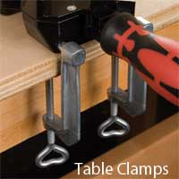 Table Clamps