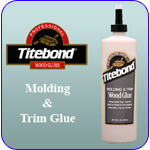 Link to Titebond Molding and Trim Glue Information