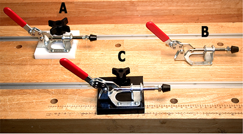 Mounted Push / Pull Toggle Clamps