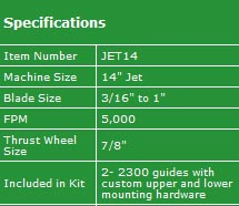 "The Carter Jet 14"" conversion kit"