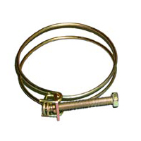 Wire Hose Clamp For Dust Collection Hose
