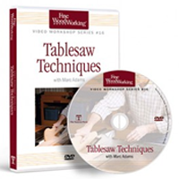 Tablesaw Techniques with Marc Adams DVD