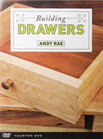 Building Drawers by Andy Rae - DVD
